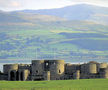 Beaumaris Castle on Anglesey