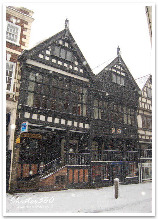 Winter in Chester