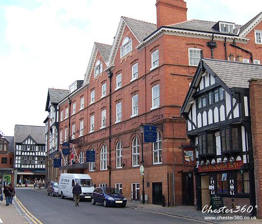 New Blossoms Hotel, Chester, UK. Chester 360°
