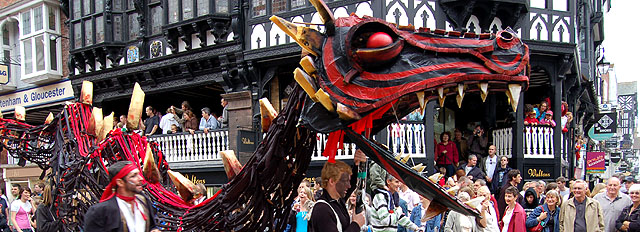 Midsummer Watch Parade Chester
