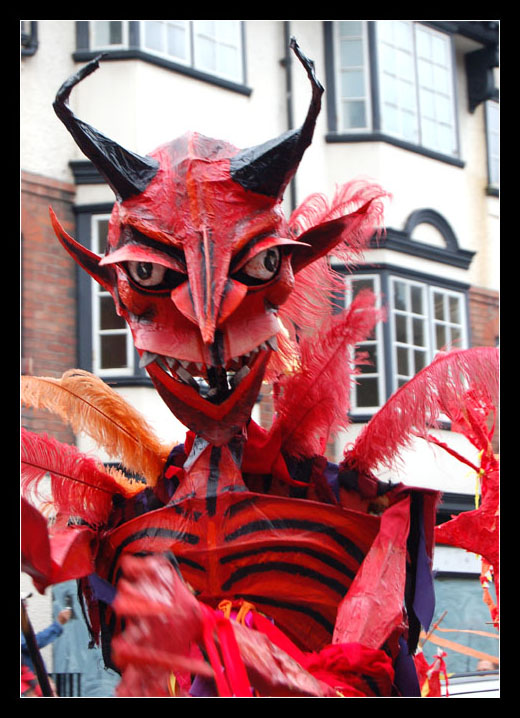 Devil at the Watch Parade