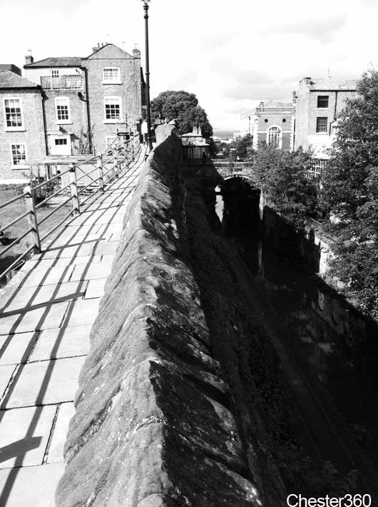 Walking The City Walls In Chester