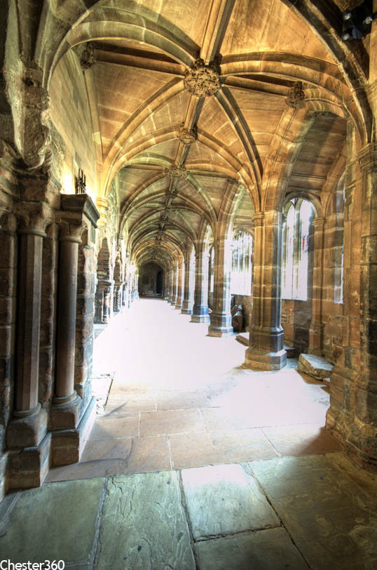 Chester Cathedral Cloisters