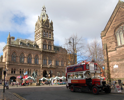 Chester Town Hall, Victorian Gothic Architecture