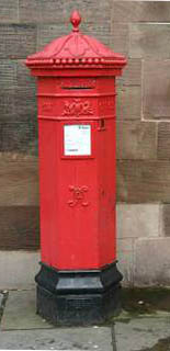 Early Victorian Postbox