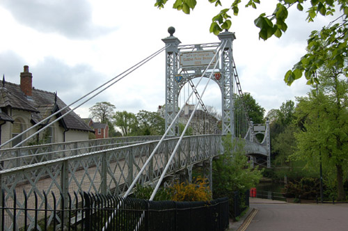 Queens Park Bridge Chester