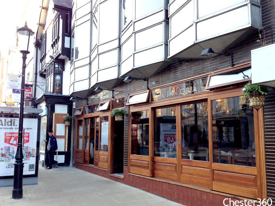 Italian Restaurant Bridge Street Chester