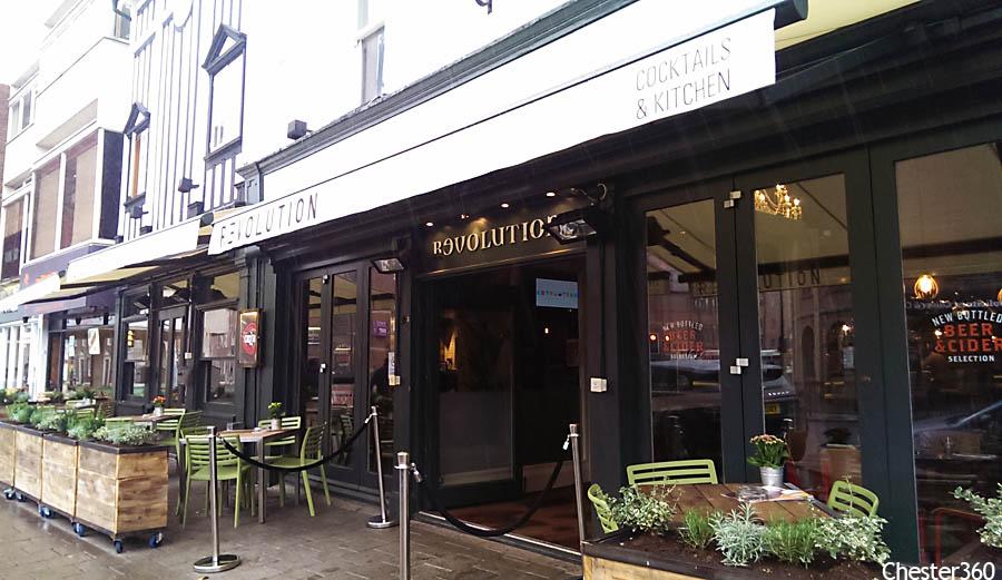 Revolution Chester Foregate Street Chester