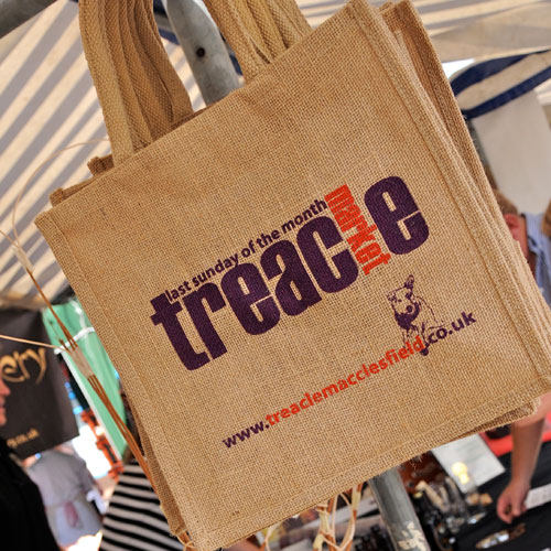 Treacle Market Jute Bag