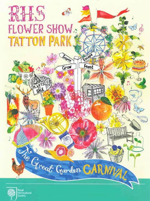rhs flower show tatton park 2014